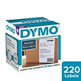DYMO LabelWriter Shipping - Shipping labels - black on white - 4 in x 6 in - 220