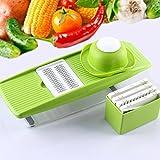 LEKOCH Kitchen Mandoline Fruit and Vegetable Slicer with 5 Blades