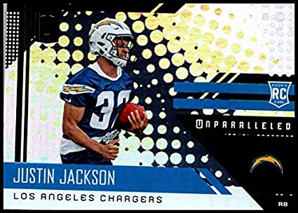 Amazon.com  2018 242 Justin Jackson NM-MT RC Los Angeles Chargers ... 8eb509800
