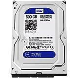 WD Blue 500GB Desktop Hard Disk Drive - SATA 6 Gb/s 64MB Cache 3.5 inch - WD5000AZRZ