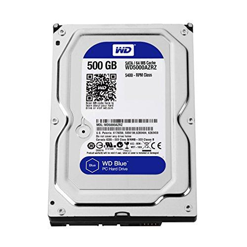 western digital 500gb - 5