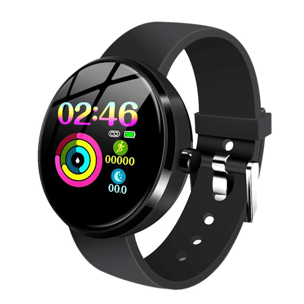 Amazon.com: LoMe Smart Watch,IP68 Waterproof Heart Rate ...