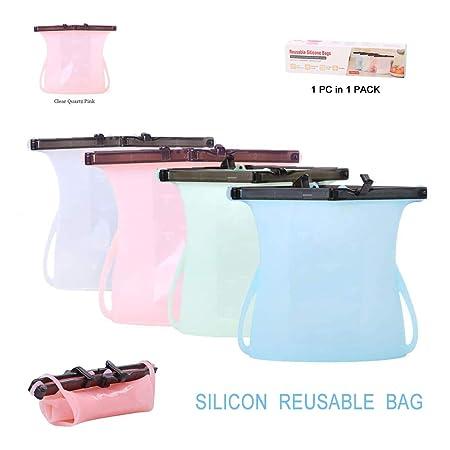 Bolsas de silicona reutilizables para aperitivos y ...