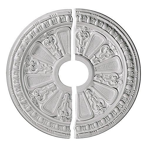 Ekena Millwork CM17RA2 Ceiling Medallion, Primed ()