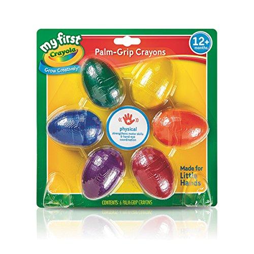 Crayola Washable Palm Grasp Crayons