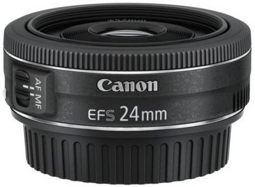 Canon Objektiv Ef S 24mm F2 8 Stm Pancake Für Eos Kamera