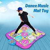 Jeteven Dance Playmat Toys, Children Kick and Play Game Mat, Challenge Rhythm & Beat Dancing Mat 40 x 31''