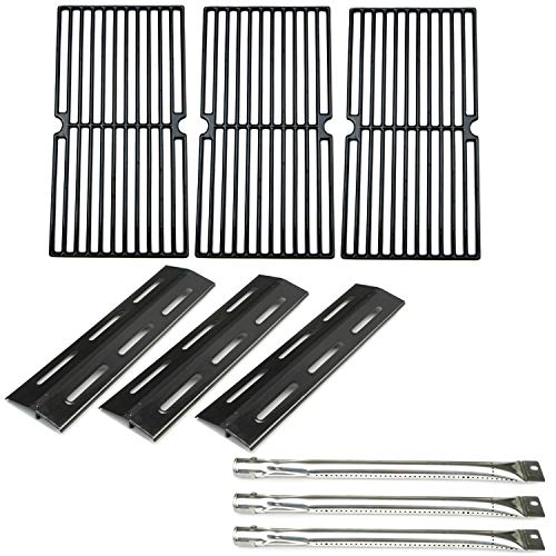 Direct store Parts Kit DG135 Replacement Brinkmann 7231 Gas Grill Burners, Heat Plates, Cooking Grids