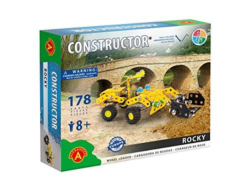 StemKids Erector Constructor - Rocky (Heavy Loader) Model Building Set, 178 Pieces Ages 8+, 100% Compatible All Major Brands Including Meccano, Educational STEM Learning Sets Kids