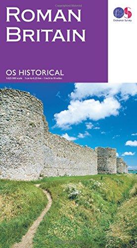 Roman Britain Historical Map OS