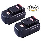 Topbatt Replace for Porter Cable 18V Battery 3.0Ah Ni-Mh PC18B PCC489N PCMVC PCXMVC 2Packs