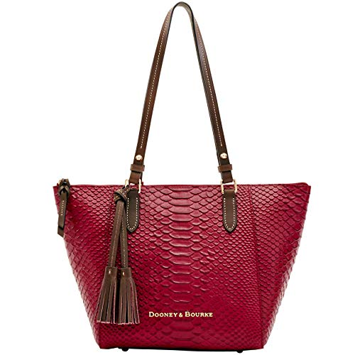 Dooney and Bourke Maxine Tote Caldwell Python Emb leather ()