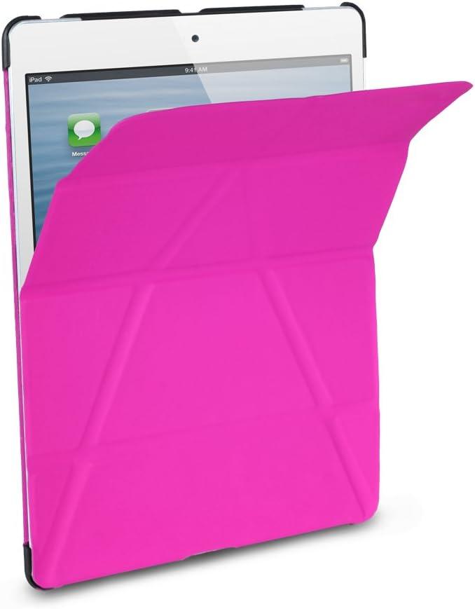 iHome IH-IM1163NP Origami Vertical Case for iPad mini, Pink