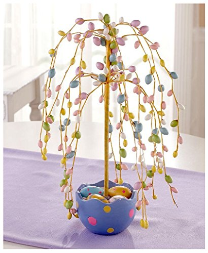 Easter Egg Tree with Egg Filled Pot Table Decoration Centerpiece 14