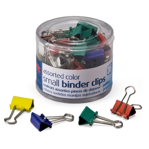 Colorful Small Binder Clips {36-count}