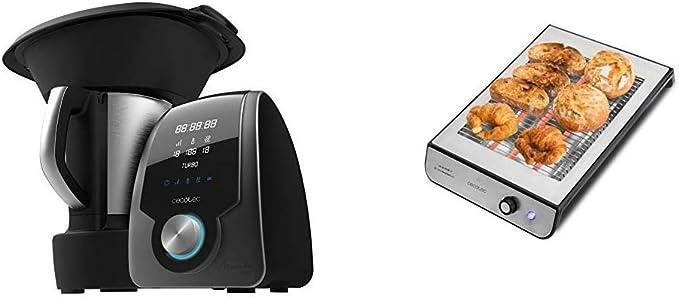 Cecotec Robot de Cocina Multifunción Mambo 7090 + Tostador Plano ...