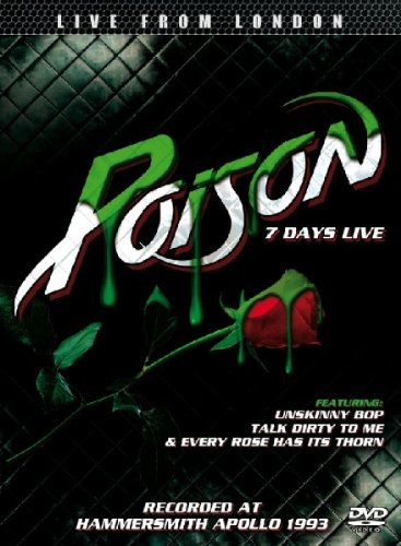 Poison - 7 Days Live - Zortam Music