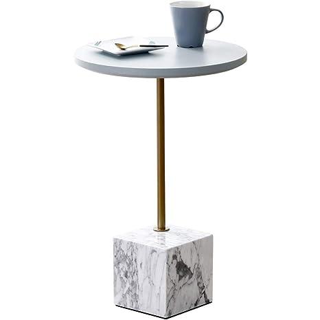 mesa plegable Feifei Sofá nórdico Lateral Mesita Redonda ...