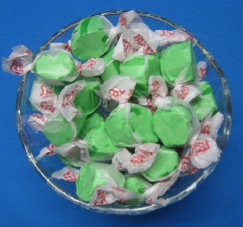 Green Apple Flavored Taffy Town Salt Water Taffy 1 (Taffy Green)