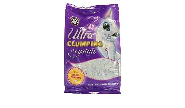 Ultrapet Arena de Cristal para Gatos con Cristales Multicolores, 5 ...