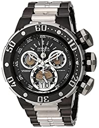 Invicta Men's 'Reserve' Swiss Quartz Stainless Steel Casual Watch, Color:Two Tone (Model: 22173)