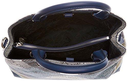 Gattinoni Gacpu0000097, Borsa a Mano Donna, 14x27x33 cm (W x H x L) Blu (Luna)