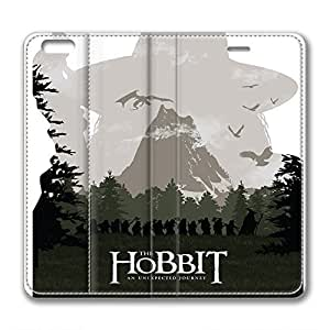 iCustomonline Leather Case for iPhone 6, The Hobbit Stylish Durable Leather Case for iPhone 6 hjbrhga1544