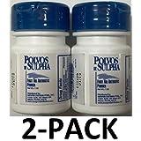 Polvos de Sulpha 7.5 gm. .69 oz. First Aid Antibiotic Powder 2-PACK