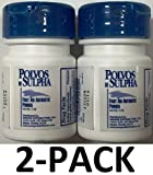 Polvos de Sulpha 7.5 gm.69 oz. First Aid Antibiotic Powder 2-Pack