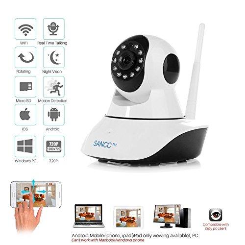 IP Camera, Baby Monitor Wireless WiFi IP Surveillance Camera