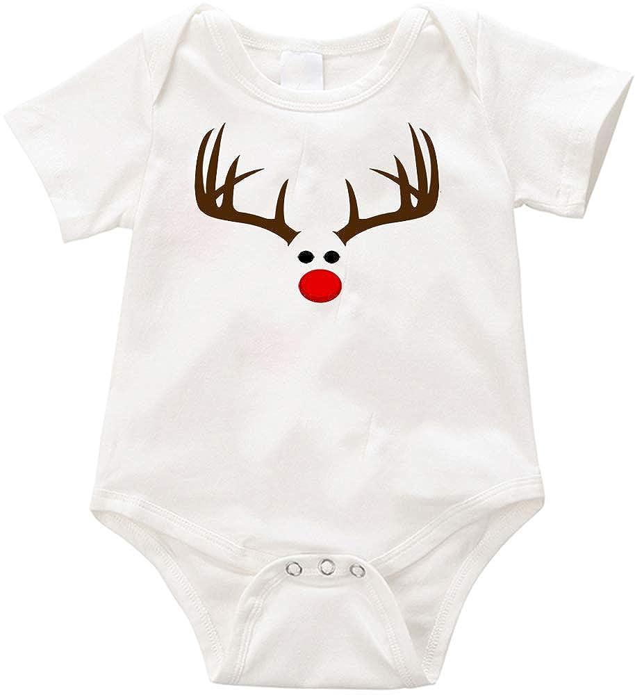 VRW Elk Christmas Unisex Romper Bodysuit
