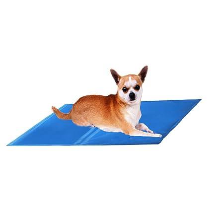 XULO Alfombrilla De Auto Refrigeración para Mascotas Azul Perro De Hielo Almohadilla De Enfriamiento del Verano