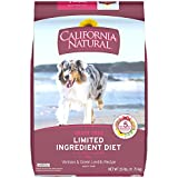 CALIFORNIA NATURAL Adult Limited Ingredient Grain Free Venison and Green Lentils Recipe Dog Food 26 Pounds