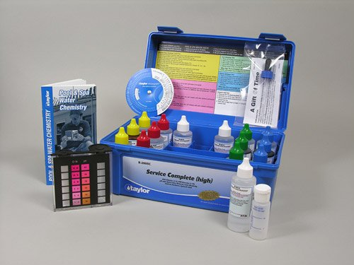 Taylor Complete Pool & Spa Test Kit - High Range K-2005C 2 oz Reagents by Taylor Technologies, Inc.