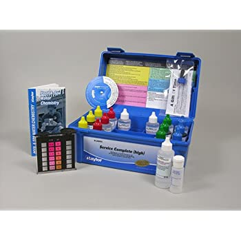 Taylor complete pool spa test kit high range k 2005c 2 oz reagents swimming for Swimming pool test kits amazon