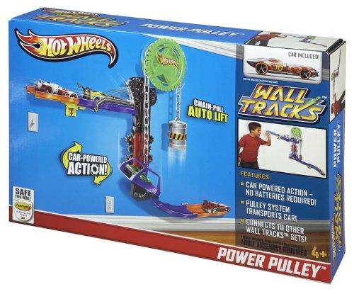 Hot Wheels Wall Tracks Power Pulley Track Set