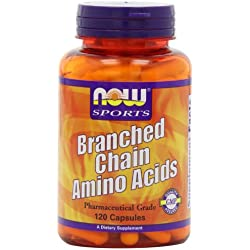 NOW Sports Branched Chain Amino Acids,120 Capsules