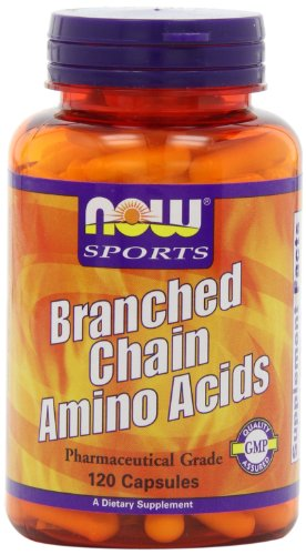 AHORA alimentos rama los aminoácidos de cadena, 120 cápsulas