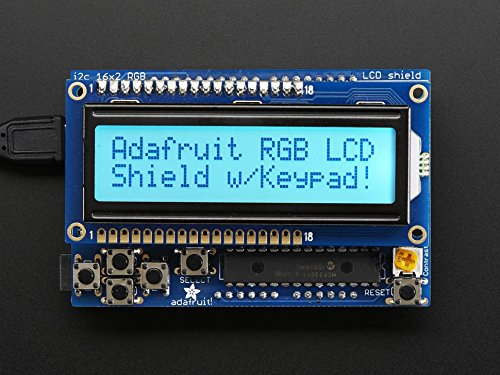 Display Development Tools 16x2 Character RGB LCD Positive Display