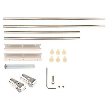 MagiDeal Soporte para Luces para Perchero de Aluminio para ...