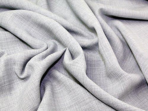 grey linen dress fabric - 7
