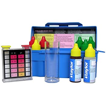 Taylor technologies k 1004 1 test kit residential trouble shooter dpd swimming for Swimming pool test kits amazon