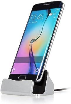 Base de Carga y Sincronización Micro USB Cargador para Android ...