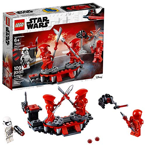 LEGO Star Wars: The Last Jedi Elite Praetorian Guard Battle Pack 75225 Building Kit , New 2019 (109 Piece)