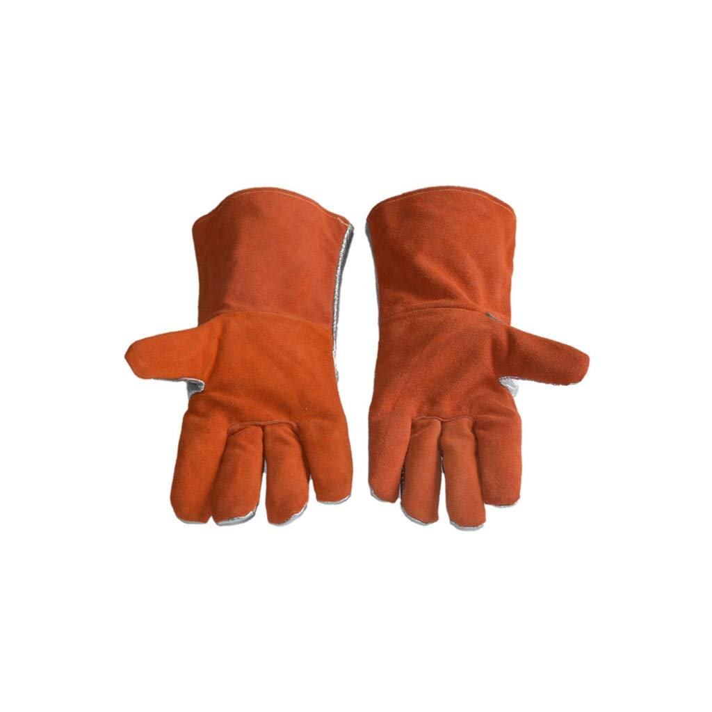 YYTLST High Temperature Resistant Gloves, High Temperature Resistant 50 °C, Heat Radiation Resistance 1000 °C, Suitable for Steel Smelting by YYTLST