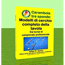 Carambola tre sponde - Modelli di cerchio completo della tavola: Dai tornei di campionato professionale (Italian Edition)