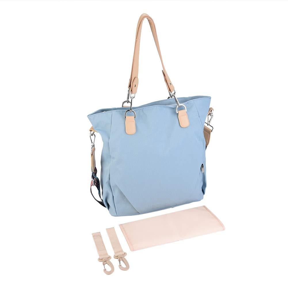 Blue Mama Baby Wickeltasche Mode Schultertasche Wasserdichte Reise Gro/ße Baby Care Mom Taschen