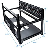 Rosewill 8 GPU Mining Case Open Air Stackable Frame