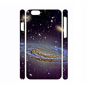 Super Slim Dustproof Galaxy Pattern Hard Plastic Phone Shell for Iphone 6 Plus Case - 5.5 Inch