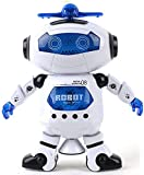 Babrit Kids Electronic Robot Dancing Robot Smart Space Robot Astronaut Music Light Toy